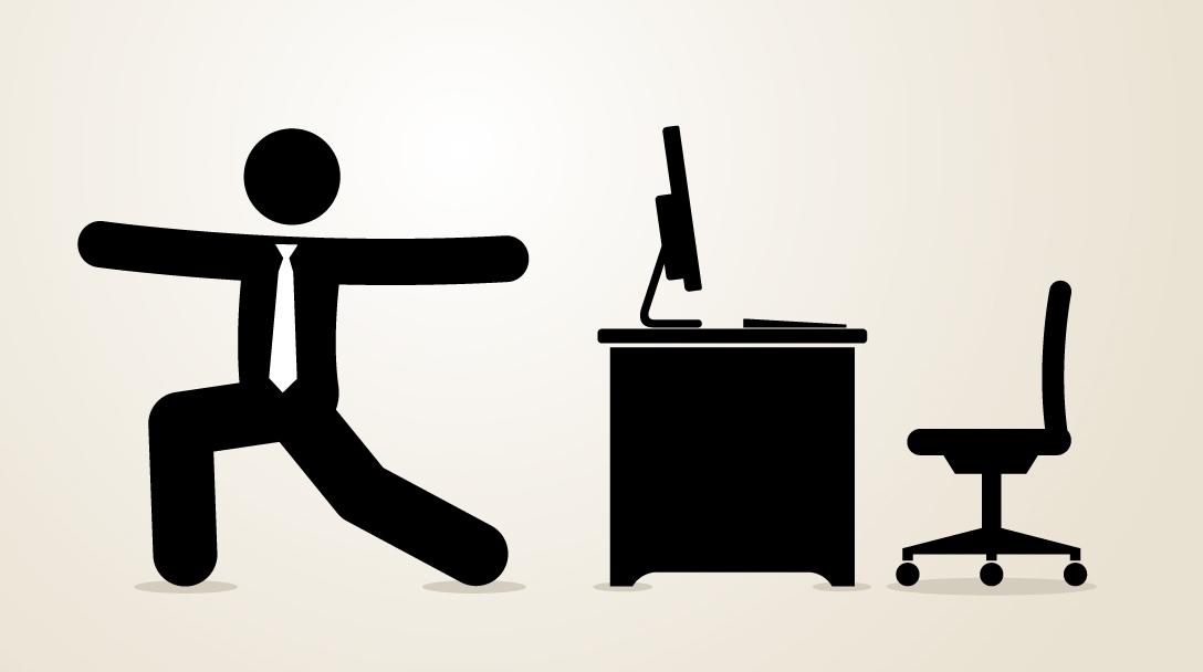 Fit am Schreibtisch: mit diesen Übungen bleiben Sie entspannt!